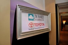 WF009 - Custom Wall Mount Frame for Non-Profits & Associations